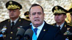 El presidente de Guatemala anuncia un estado de prevención en 2 municipios