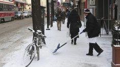 El oeste de Canadá se congela con temperaturas de hasta -50 grados