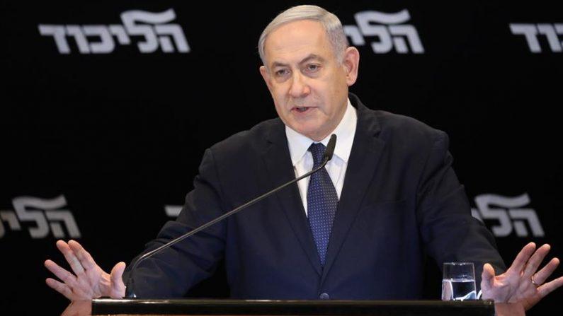 El primer ministro de Israel, Benjamín Netanyahu. EFE/EPA/ABIR SULTAN