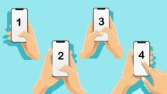 La forma en que sostiene y usa su teléfono inteligente puede informarle sobre su personalidad