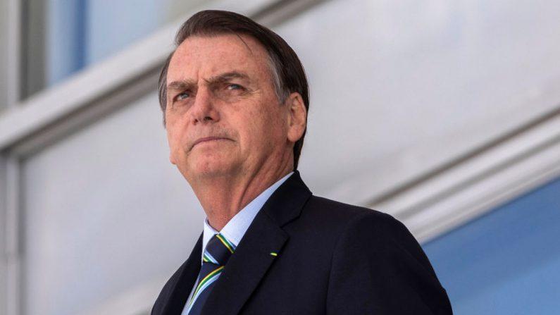 El presidente de Brasil, Jair Bolsonaro, fotografía tomada el 12 de marzo de 2019 en el palacio de Planalto en Brasilia (Brasil). (SERGIO LIMA/AFP/Getty Images)