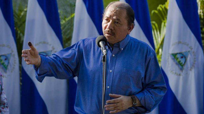 En la imagen el líder sandinista, Daniel Ortega. EFE/Jorge Torres/Archivo