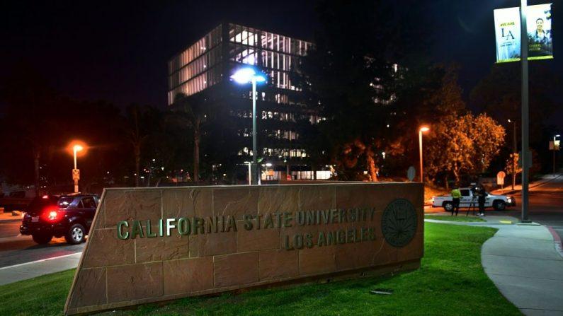 El campus de la Universidad Estatal de California el 25 de abril de 2019 en Los Angeles, California. - - foto de archivo (FREDERIC J. BROWN/AFP a través de Getty Images)