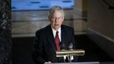 """""""No habrá negociación"""" con la Cámara sobre las reglas de impeachment del Senado, dice McConnell"""