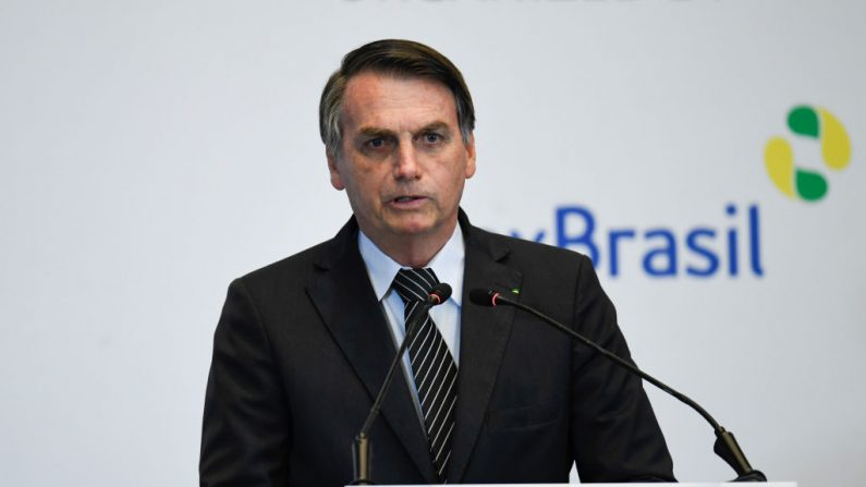 El presidente de Brasil Jair Bolsonaro (Madoka Ikegami-Pool / Getty Images)