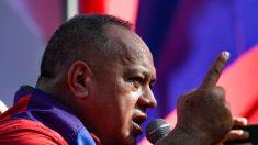 """Cabello dice que """"Argentina verá de qué lado se acomoda"""" y pide a los chavistas seguir al régimen"""