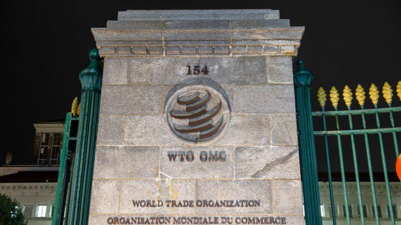 La sede de la Organización Mundial del Comercio (OMC) se encuentra el 11 de diciembre de 2019 en Ginebra, Suiza. El futuro de la OMC está en duda luego de que la OMC está en dificultad para emitir resoluciones sobre disputas comerciales. (Robert Hradil / Getty Images)