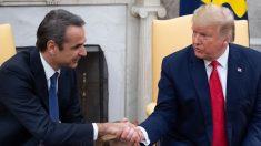 Trump se reúne con primer ministro griego para discutir sobre cooperación estratégica y seguridad