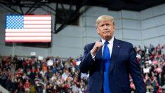 Trump defiende política exterior en acto de campaña en Milwaukee