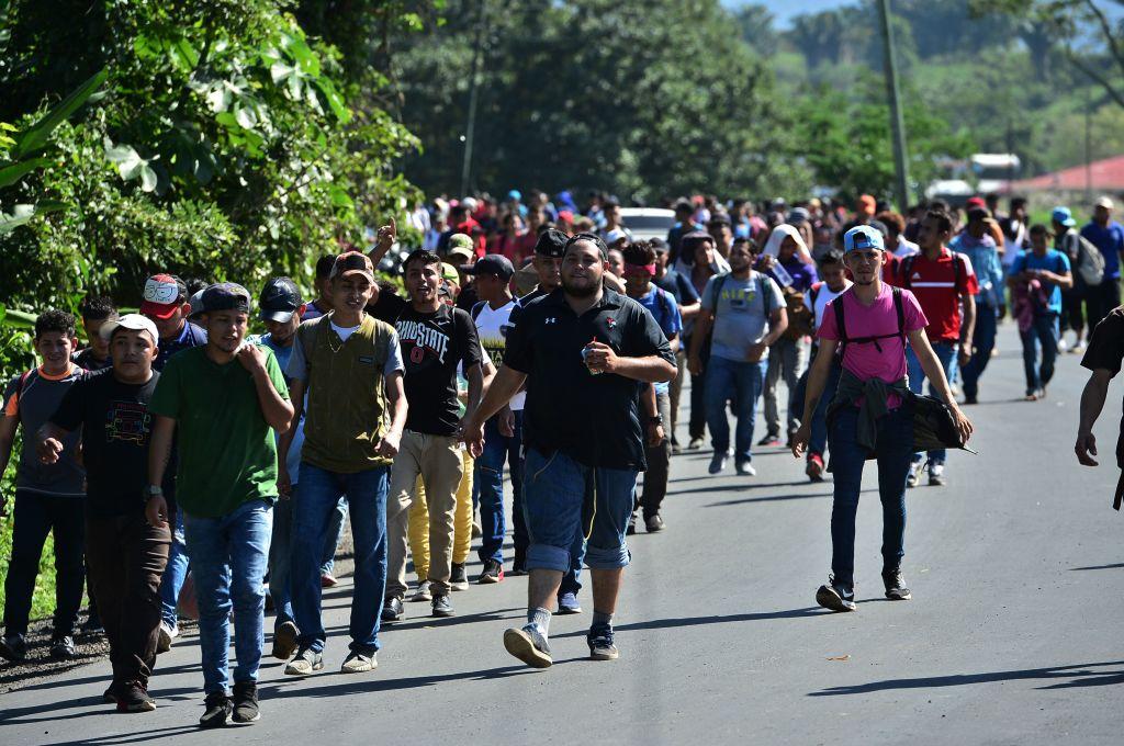 Resultado de imagen para Varios migrantes hondureños fueron deportados desde la frontera de México