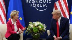 Trump se reúne con Presidenta de la Comisión Europea para conversar sobre comercio