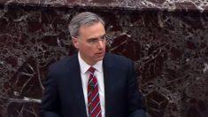 Abogados de Trump reanudan su presentación en el juicio de impeachment del Senado