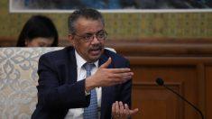Director de la OMS visita China después de admitir error en la evaluación de riesgo del coronavirus