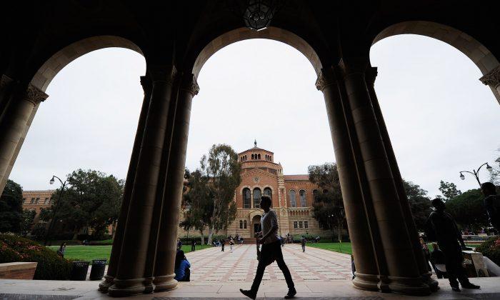 El Salón Royce en el campus de UCLA en Los Ángeles, 23 de abril de 2012. (Kevork Djansezian/Getty Images)
