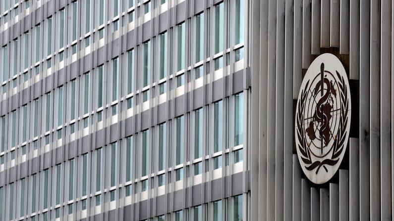 Sede de la Organización Mundial de la Salud (OMS) en una foto de archivo del 28 de abril de 2009 en Ginebra. (FABRICE COFFRINI/AFP a través de Getty Images)