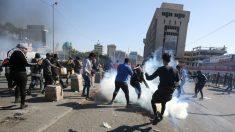 Cohetes atacan la embajada de EE.UU. en Bagdad mientras continúan las protestas