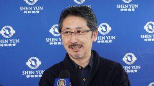 Un productor de cine japonés y el presidente de una compañía quedan cautivados por la actuación de Shen Yun