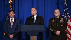 Pompeo: Fuerzas Armadas de los Estados Unidos sólo atacarían objetivos legales en respuesta a Irán