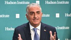 Príncipe heredero de Irán anuncia colapso del régimen y hace un llamado a un diálogos constructivos