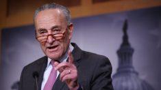 No hay diálogos bipartidistas sobre los testigos del impeachment, dice Schumer