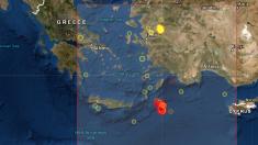 Sismo de magnitud 5,3 sacude nuevamente la isla griega de Kárpatos