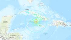 Terremoto en Jamaica de magnitud 7,7 envía alerta de tsunami a Cuba, México, Bélice y Honduras