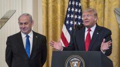 """Trump lanza su plan de paz para Medio Oriente, lo llama solución """"realista"""" para dos estados"""