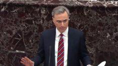 Demócratas sacaron del impeachment la discusión sobre división de responsabilidades, dice Cipollone