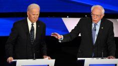 """Sanders se disculpa con Biden por artículo de opinión de un partidario: """"Lo siento"""""""