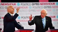 Kerry defiende a Biden después que Sanders lo atacara por su voto a favor de la guerra en Irak