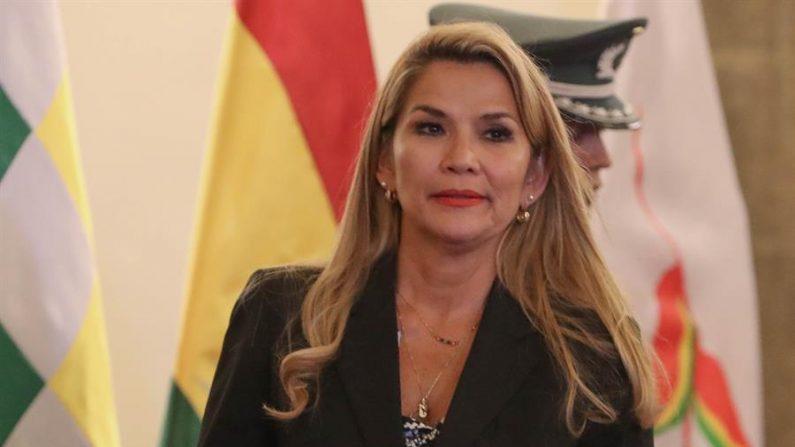 Presidente interina da Bolívia, Jeanine Áñez ( EFE / Martín Alipaz / Arquivo)