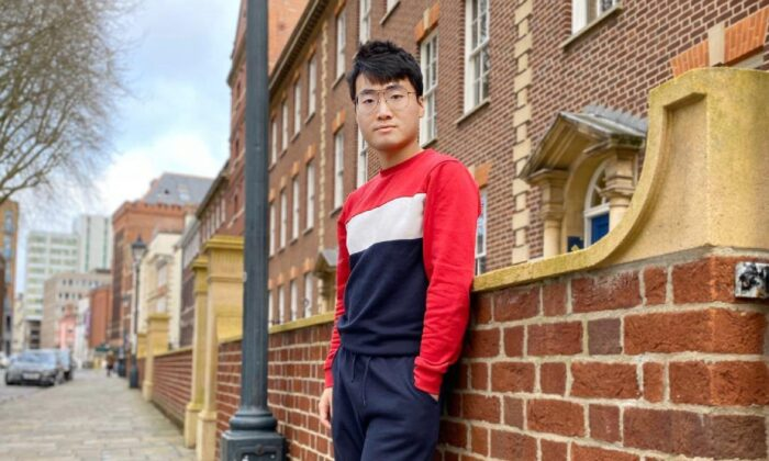 Simon Cheng en Londres, Reino Unido. (Cortesía de Simon Cheng)