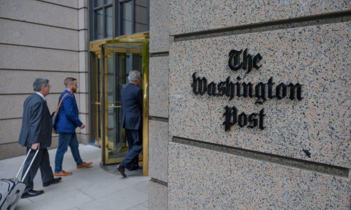 La sede del Washington Post en la calle K de Washington - foto de archivo. (Eric Baradat/AFP/Getty Images)