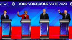 Principales candidatos demócratas presentan sus casos antes de las primarias de New Hampshire