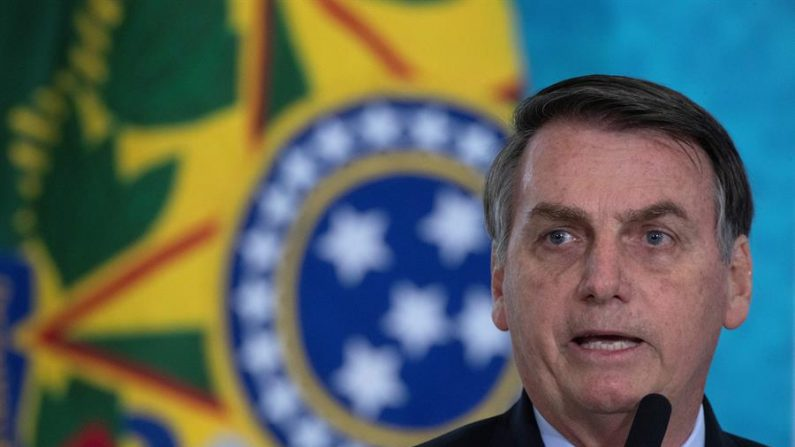 En la imagen, el presidente brasileño, Jair Bolsonaro. (EFE/Joédson Alves/Archivo)