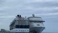 Crucero espera resultados médicos para bajar a pasajeros en la isla de Cozumel