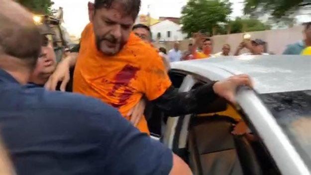 Un senador brasileño es herido de bala durante una protesta de policías