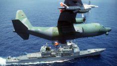 Marina de EE. UU. despliega buque de guerra armado con nuevo sistema láser antidrones