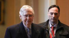 """Los artículos de impeachment de la Cámara son """"constitucionalmente incoherentes"""", dice McConnell"""