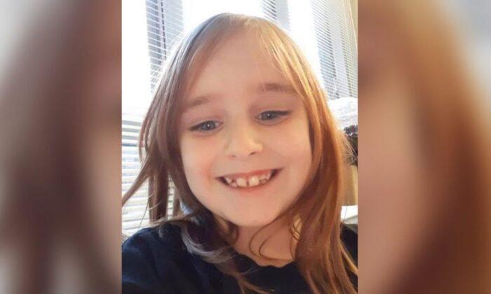 Faye Marie Swetlik de 6 años. (Departamento de Seguridad Pública de Cayce)