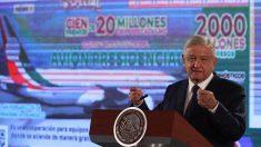López Obrador rifará el avión presidencial de México el 15 de septiembre