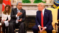 Ecuador: El presidente Lenín Moreno regresa de EE.UU. con el compromiso de afianzar alianza