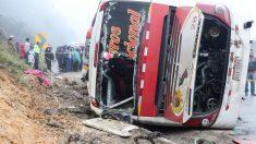 Al menos siete muertos y más de 30 heridos en accidente de tráfico en Ecuador