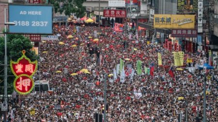 Varias ONG expresan preocupación tras la disolución de un organizador de protestas en Hong Kong
