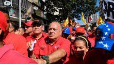 Diosdado Cabello anuncia acciones legales contra ONG venezolanas que reciben fondos de EE.UU.