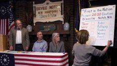 Los residentes de Nuevo Hampshire se dirigen a votar en las primeras primarias de la nación