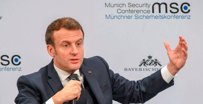 Macron sugiere sanciones contra Rusia por injerencia en procesos electorales