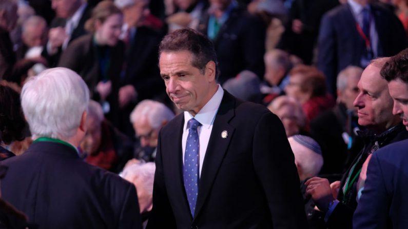 Andrew Cuomo, Gobernador del estado de Nueva York el 27 de enero de 2020. Imagen de archivo. (Sean Gallup/Getty Images)
