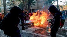 Nuevo incendio en museo Violeta Parra en medio de disturbios en Chile