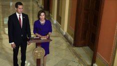 Nancy Pelosi y Mike Pompeo se reúnen con Juan Guaidó en Washington